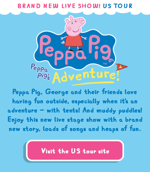Peppa Pig Best Day Ever Brand New Live Show